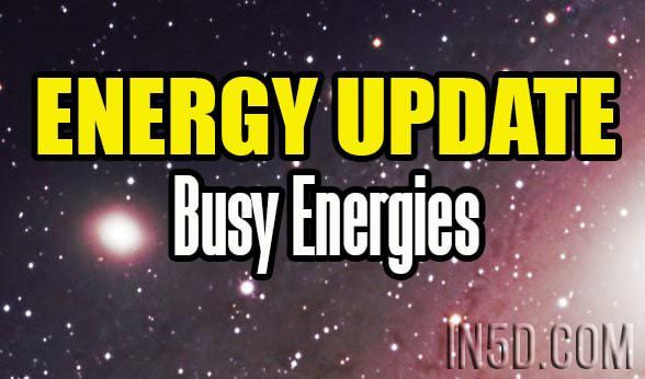 Energy Update - Busy Energies - CHRISTmas