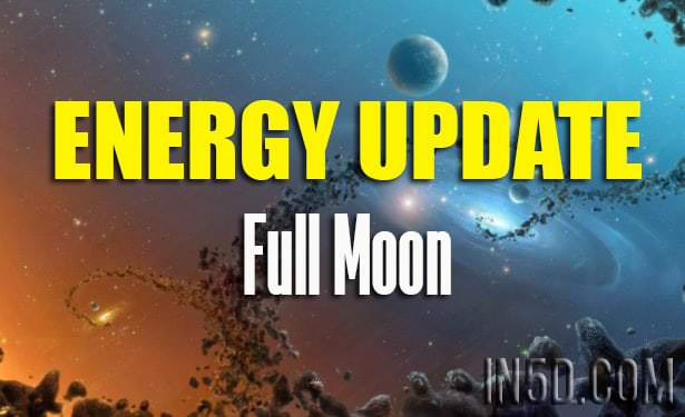 Energy Update - Full Moon