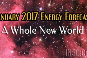 January 2017 Energy Forecast – A Whole New World