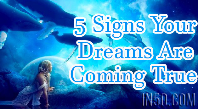 5 Signs Your Dreams Are Coming True