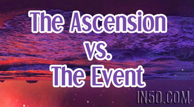 As We Shift - The Ascension vs The Event