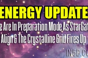 Energy Update – We Are In Preparation Mode As StarGates Align & The Crystalline Grid Fires Up