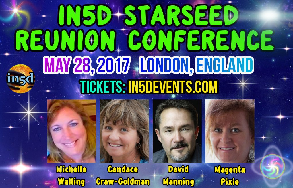IN5D STARSEED REUNION - LONDON, ENGLAND