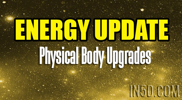 Energy Update - Physical Body Upgrades