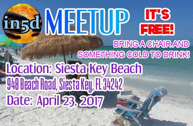 Monthly In5D Beach Meetup