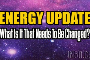 ENERGY UPDATE – What Is It That Needs To Be Changed?