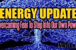 ENERGY UPDATE – Overcoming Fear To Step Into Our Own Power