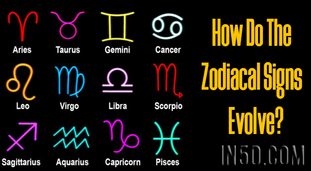 How Do The Zodiacal Signs Evolve?