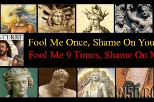 Jesus: Fool Me Once, Shame On You; Fool Me 9 Times, Shame On Me