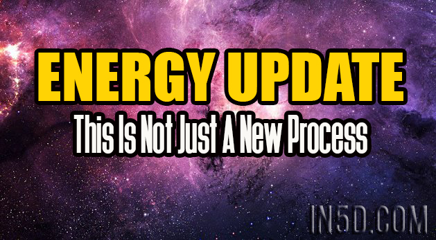Energy Update - This Is Not Just A New Process