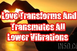 Love Transforms And Transmutes All Lower Vibrations