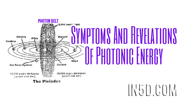 Symptoms And Revelations Of Photonic Energy