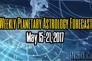 Weekly Planetary Astrology Forecast May 15-21, 2017