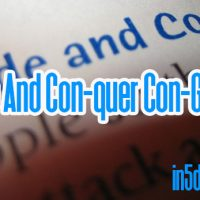 Divide And Con-quer Con-Games