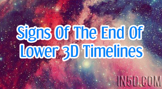 Signs Of The End Of Lower 3D Timelines