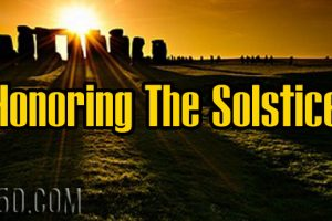 Honoring The Solstice