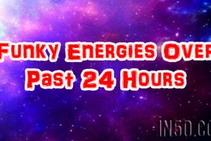 Funky Energies Over Past 24 Hours