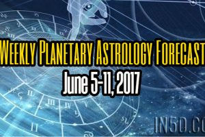 Weekly Planetary Astrology Forecast June 5-11, 2017