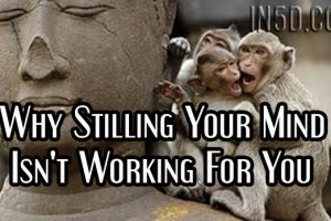 Why Stilling Your Mind Isn't Working For You