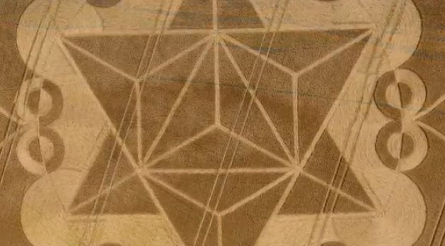 UFO's Captured On Video Over New Crop Circle - POWERFUL Message!