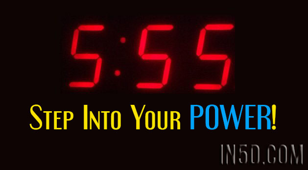 555 - Step Into Your POWER!
