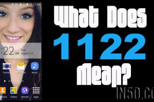 What Does 1122 Mean?