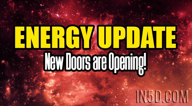 Energy Update - New Doors are Opening!