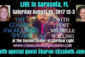 CAS LIVE Sarasota – Cosmic Wisdom From Sharon-Elizabeth James