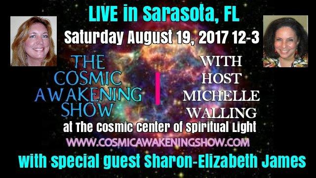 CAS LIVE Sarasota - Cosmic Wisdom From Sharon-Elizabeth James