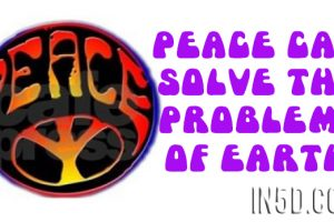 Peace Can Solve The Problems Of Earth