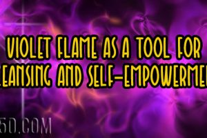 Violet Flame As A Tool For Cleansing And Self-Empowerment