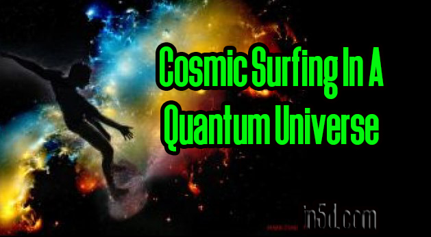 Cosmic Surfing In A Quantum Universe