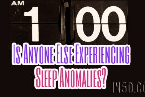 Is Anyone Else Experiencing Sleep Anomalies? In5D FB Live Ep. #7 w/ Gregg Prescott