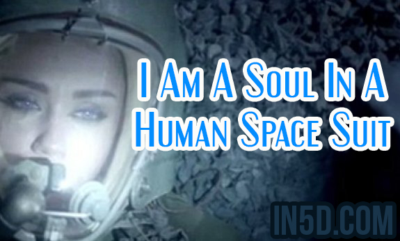 I Am A Soul In A Human Space Suit