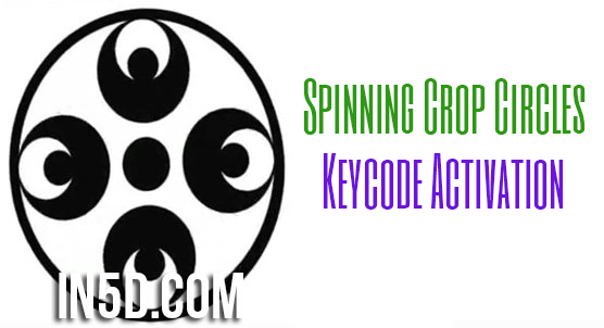 Spinning Crop Circles - Keycode Activation