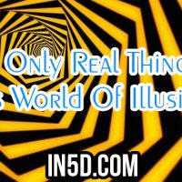 The Only Real Thing In This World Of Illusions