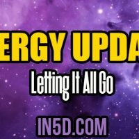 Energy Update – Letting It All Go