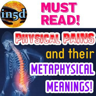 Physical Pains And Their Metaphysical Meanings