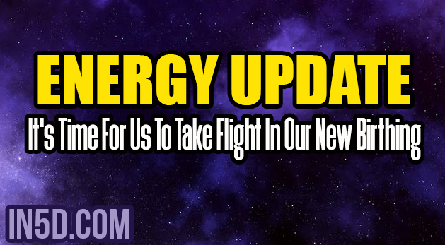 Energy Update - It's Time For Us To Take Flight In Our New Birthing