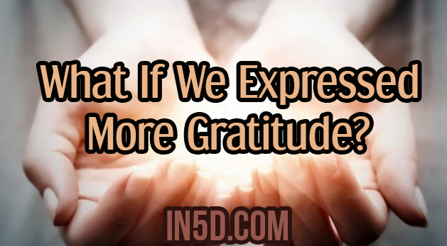 What If We Expressed More Gratitude?