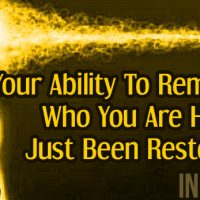 Your Ability To Remember Who You Are Has Just Been Restored