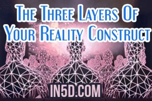 The Three Layers Of Your Reality Construct