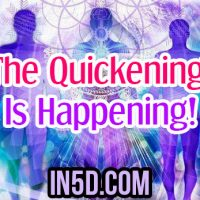 The Quickening Is Happening!