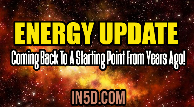 Energy Update - Coming Back To A Starting Point From Years Ago!