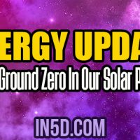 Energy Update – New Ground Zero In Our Solar Plexus
