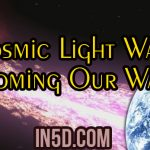 Cosmic Light Wave Coming Our Way