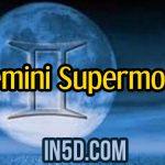 December 3rd Gemini Supermoon