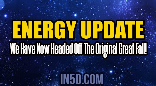 Energy Update - We Have Now Headed Off The Original Great Fall!