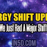 Energy Shift Update – We Just Had A Major Shift!