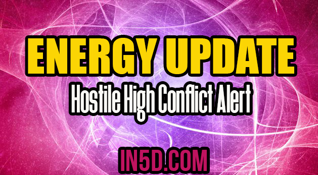 Energy Update - Hostile High Conflict Alert